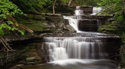 Photo of States & Municipalities Buttermilk Falls at 112 E. Buttermilk Falls Rd., Ithaca, NY 14850, United States