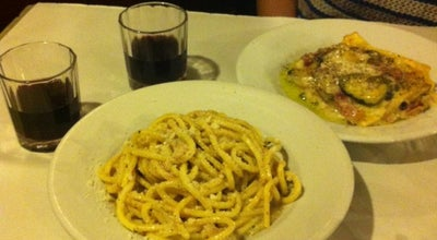 Photo of Italian Restaurant Trattoria da Alfredo e Ada at Via Dei Banchi Nuovi, 14, Roma 00153, Italy