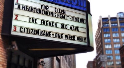 Photo of Indie Movie Theater Film Forum at 209 W Houston St, New York, NY 10014, United States