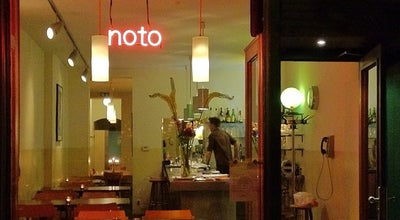 Photo of Modern European Restaurant noto at Torstr. 173, Berlin 10115, Germany