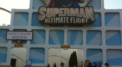 Photo of Theme Park Ride / Attraction Superman Ultimate Flight at 1 Six Flags Blvd, Jackson, NJ 08527, United States