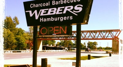 Photo of Burger Joint Webers Hamburgers at 8844 Hwy. 11, Orillia, On L3V 6H3, Canada
