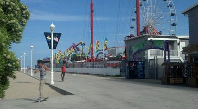 Photo of Theme Park Jolly Roger at the Pier at 401 S Boardwalk, Ocean City, MD 21842, United States