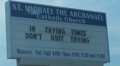 Photo of Church St. Michael The Archangel Catholic Church at 2281 State Road 580, Clearwater, FL 33763, United States