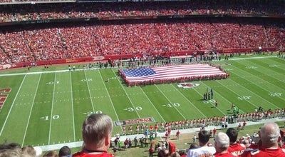 Photo of Football Stadium Arrowhead Stadium at Kansas City, MO 64126, United States