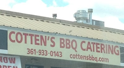 Photo of BBQ Joint Cottens BBQ at 15013 Northwest Blvd, Corpus Christi, TX 78410, United States