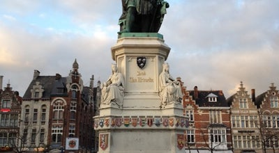 Photo of Plaza Vrijdagmarkt at Vrijdagmarkt, Gent 9000, Belgium