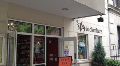 Photo of Bookstore Book Culture at 536 W 112th St, New York, NY 10025, United States