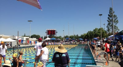Photo of Pool Clovis West High School - Aquatics at 1070 E Teague Ave, Fresno, CA 93720, United States