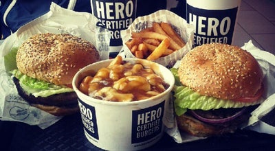 Photo of Burger Joint Hero Certified Burgers at 21 Famous Ave,, Woodbridge, ON L4L 0B6, Canada