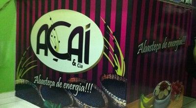 Photo of Dessert Shop Açaí & Cia at Alameda Lurdinha Diniz, 39, Pirapora 39270-000, Brazil