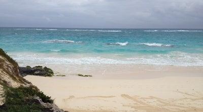 Photo of Beach Elbow Beach at Paget Parish, Bermuda