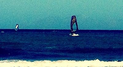 Photo of Beach Παραλία Μονόλιθου (Monolithos Beach) at Παραλία Μονόλιθου, Σαντορίνη 847 00, Greece