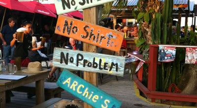 Photo of American Restaurant Archie's Seabreeze at 401 S Ocean Dr, Fort Pierce, FL 34949, United States