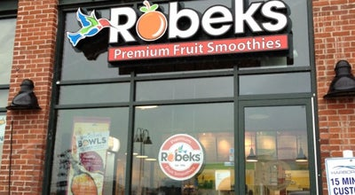Photo of Smoothie Shop Robeks Fresh Juices & Smoothies at 711 Canal St, Stamford, CT 06902, United States