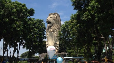 Photo of Monument / Landmark The Merlion (Sentosa) at Merlion Plaza, Sentosa Island 098676, Singapore