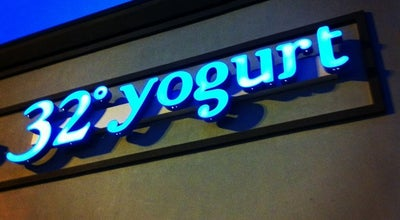 Photo of Ice Cream Shop 32° Yogurt Bar at 1109 S Park St #406, Carrollton, GA 30117, United States