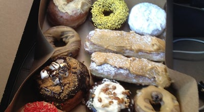 Photo of Donut Shop Mojo Monkey Donuts at 1169 7th St W, Saint Paul, MN 55102, United States