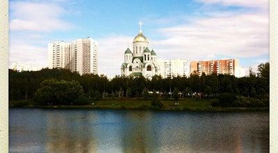 Photo of Lake Большой Солнцевский пруд на Сетуньке at Ул. Богданова, Москва, Russia