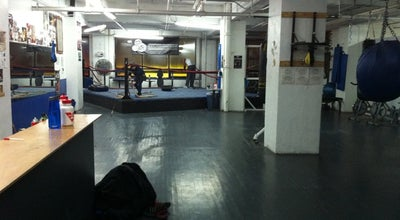 Photo of Boxing Gym UnderDog Boxing Gym at 9, Montreal, Qu Ca, Canada