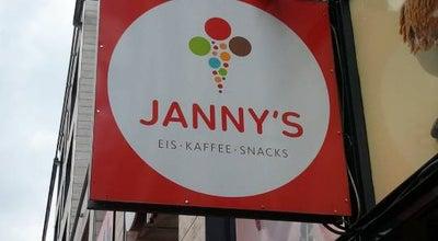 Photo of Ice Cream Shop Janny's Eiscafe at Millerntorplatz 1, Hamburg 20359, Germany