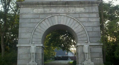 Photo of Historic Site Camp Randall Arch at Camp Randall Memorial Park, Madison, WI 53715, United States