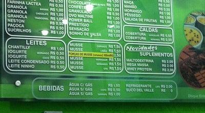 Photo of Dessert Shop Nativos Açaí at R. Pedro Bonésio, 226, Três Corações 37410-000, Brazil