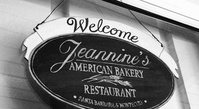Photo of Bakery Jeannine's American Bakery & Restaurant at 1253 Coast Village Rd, Montecito, CA 93108, United States