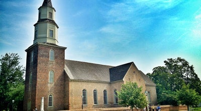 Photo of Church Bruton Parish Episcopal Church at Duke Of Gloucester St, Williamsburg, VA 23185, United States
