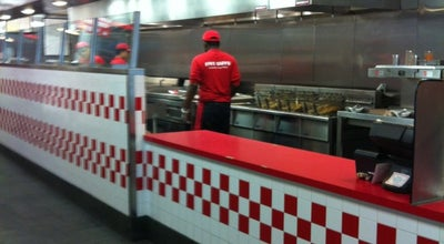Photo of Burger Joint Five Guys at 690 3rd Avenue, New York, NY 10017, United States