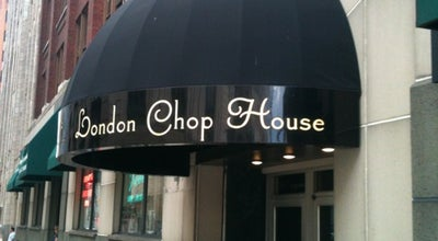 Photo of Steakhouse London Chop House at 155 W Congress St, Detroit, MI 48226, United States