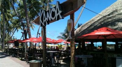 Photo of Bar Kanoa Beach Bar at Av. Silvio Carlos Viana, Maceió, Brazil
