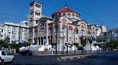 Photo of Church Μητροπολιτικός Ναός Αγίας Τριάδος (Metropolitan Church of Agia Triada) at Εθνικής Αντιστάσεως 2, Πειραιάς 185 32, Greece