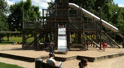 Photo of Playground Spielplatz Rosensteinpark at Stuttgart, Germany