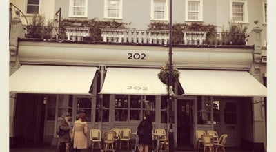 Photo of Cafe 202 Restaurant at 202 Westbourne Grove, Notting Hill W11 2SB, United Kingdom