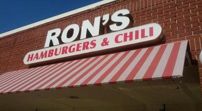 Photo of Burger Joint Ron's Hamburgers & Chili at 216 S Santa Fe Ave, Edmond, OK 73003, United States