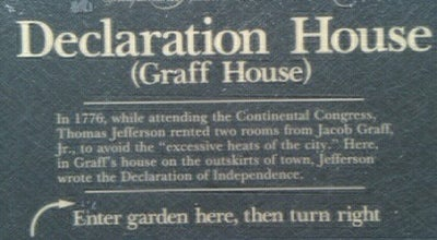 Photo of Historic Site Declaration House at 701 Market St, Philadelphia, PA 19106, United States