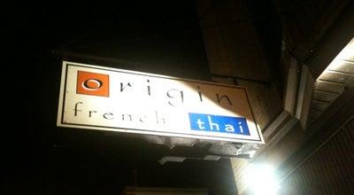 Photo of Thai Restaurant Origin Thai at 25 Division St, Somerville, NJ 08876, United States