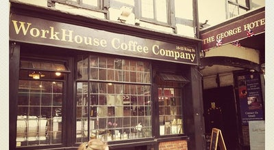 Photo of Coffee Shop Workhouse Coffee at 10-12 King St, Reading RG1 2HF, United Kingdom