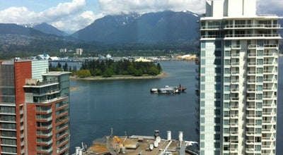 Photo of Hotel Vancouver Marriott Pinnacle Downtown Hotel at 1128 West Hastings Street, Vancouver, BC V6E 4R5, Canada