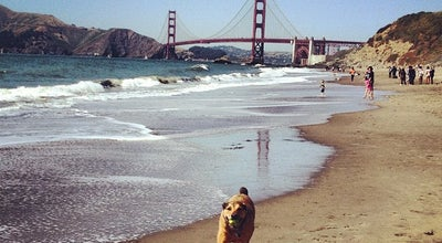 Photo of Beach Baker Beach at 1504 Pershing Dr, San Francisco, CA 94129, United States