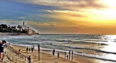 Photo of Beach Yaffo Beach at Old Jaffa, tel aviv, Israel