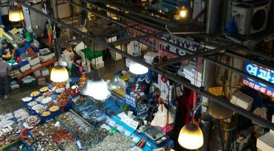 Photo of Fish Market 노량진수산시장 at 동작구 노들로 688, 서울특별시 06900, South Korea