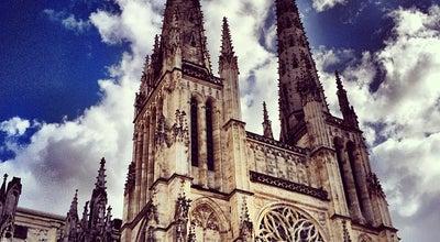 Photo of Church Cathédrale Saint-André at Place Pey-berland, Bordeaux 33000, France