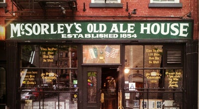 Photo of Pub McSorley's Old Ale House at 15 E 7th St, New York, NY 10003, United States