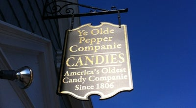 Photo of Candy Store Ye Olde Pepper Co at 122 Derby St, Salem, MA 01970, United States