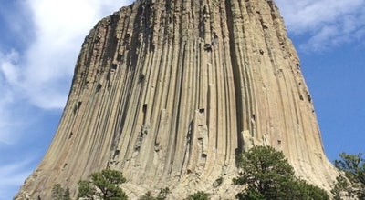 Photo of Tourist Attraction Devil's Tower National Monument Visitor Center at Devils Tower, WY, United States