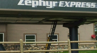Photo of Ski Area Zephyr Express Lift at Winter Park, CO 80482, United States