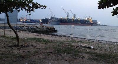 Photo of Beach หาดแหลมฉบัง at Thailand