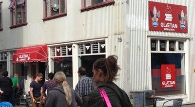 Photo of Cafe Glætan bókakaffi at Laugavegur 19, Reykjavik 101, Iceland
